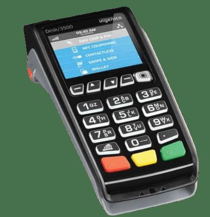 card terminal form XEPOS