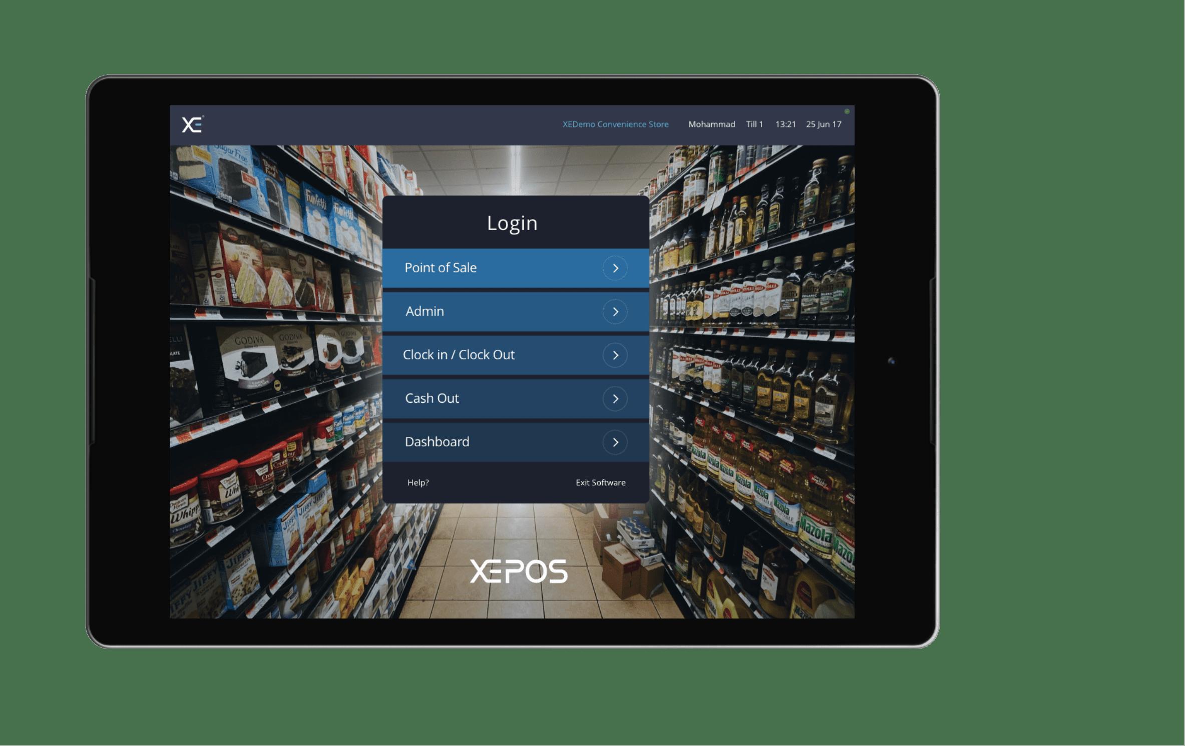 Shop XEPOS