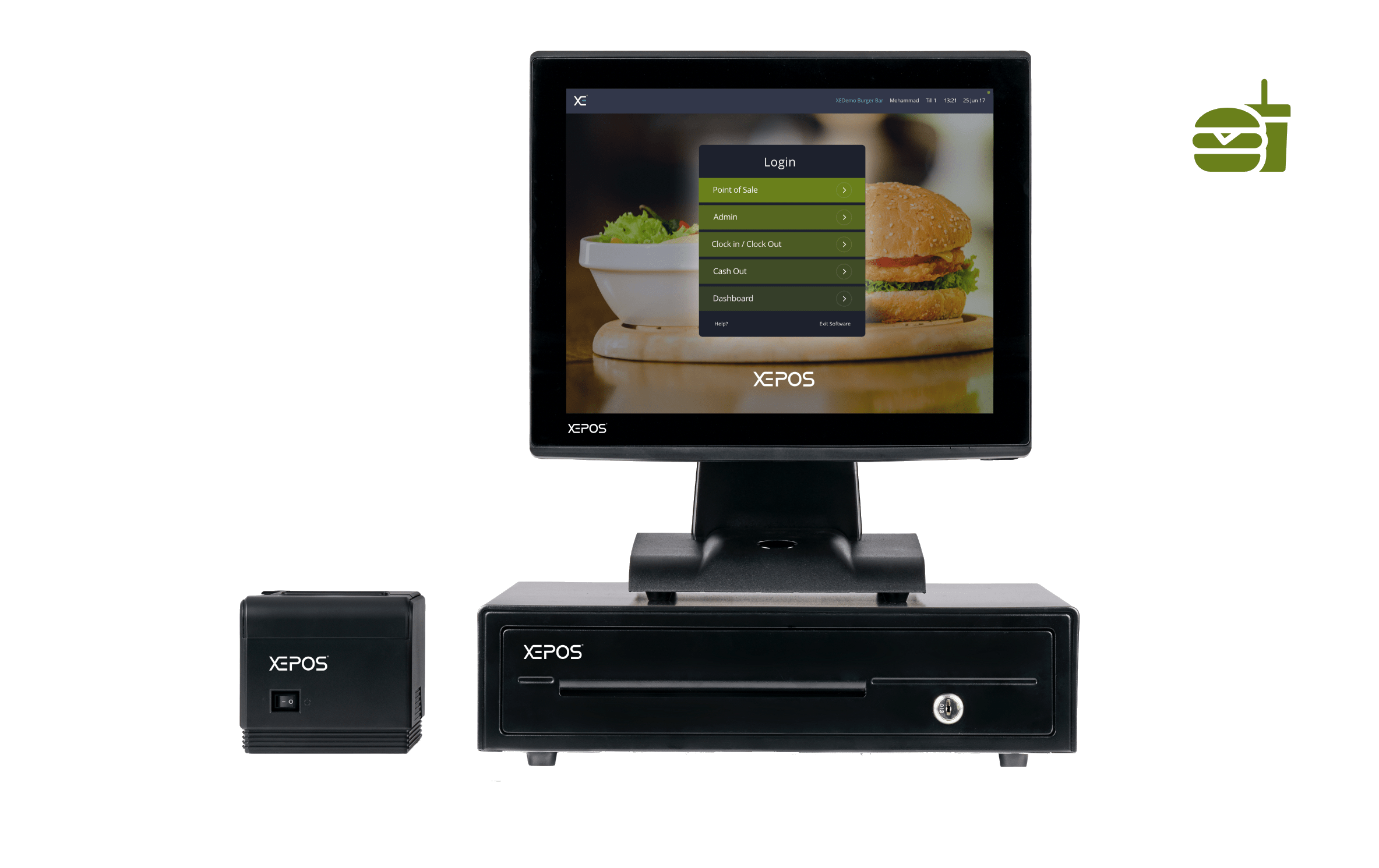 Burger Shops XEPOS