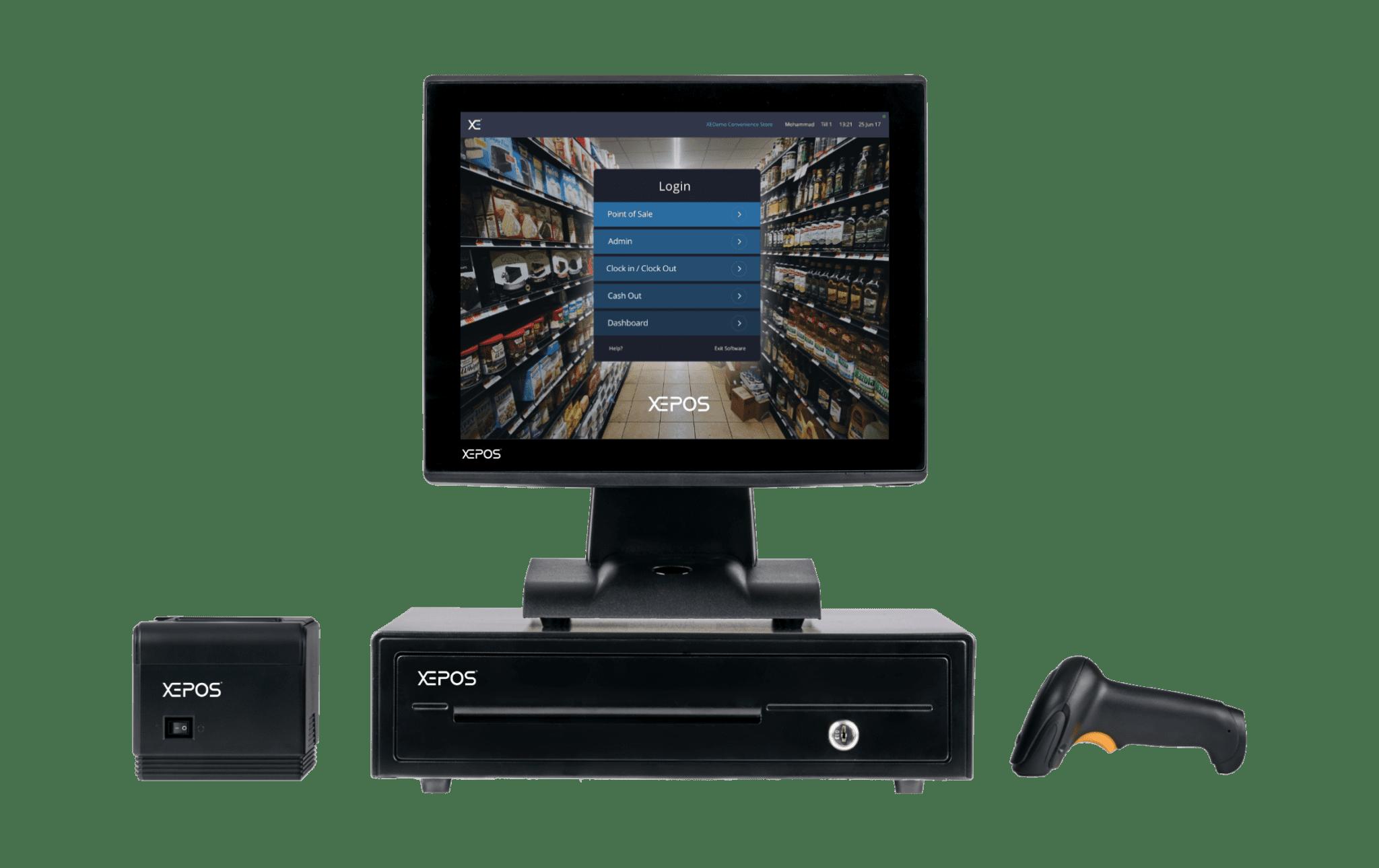 Convenience stores & supermarkets XEPOS